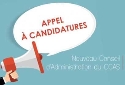 CCAS appel à candidature